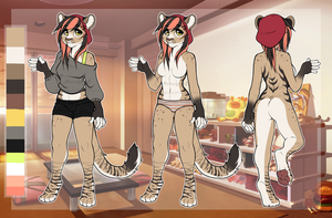 .: Anthro Female Liger Adopt :. [CLOSED] by Cannidae