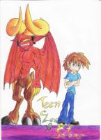 Leo and satan, my version by Vilenro