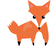 Cute fox by Sacari