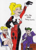 I'm the new Harley Quinn by xero87