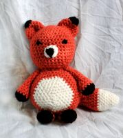 Amigurumi Fox by Thy-Darkest-Hour