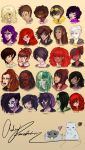ALL THE OCS (all of them) by gaaradesertdreams