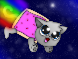 Nyan Kitty by NazFro24
