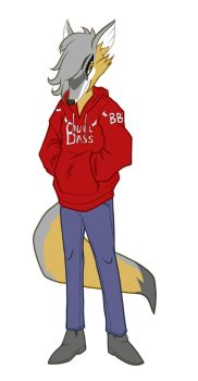 Casual Fox by Canon-Thought