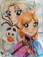 Disney's Frozen by Artfrog75