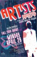 Artists Wanted: Fall '08 by Seany-Mac