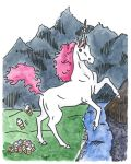Unicorn Pooping Cupcakes - 8x10 Prints For Sale by erikabarcott