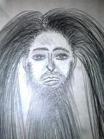 Portrait of Jesus Christ 7 by SlyMFoxx