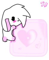 Bunny Heart Logo by Cupida