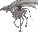 ..Thestral.. by aerettberg