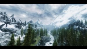 Welcome to Skyrim by lupusmagus