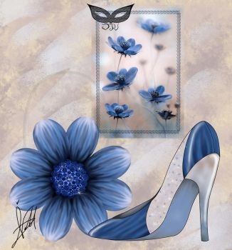 Sketch Look Bag And Shose Flores by verdecasa