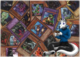 Me and my favorite cards by WhiteRoo