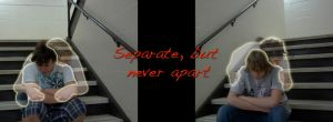 separate but never apart 2 by AztecAngelo