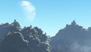 Jungle Mountains by esk6a