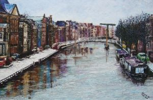 Winter in Amsterdan by j0rosa