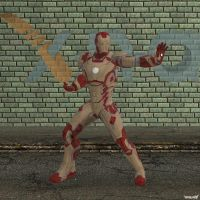 XNA Iron Man mark 42 by X-N-A