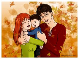 Potter Family by o-Marin-o