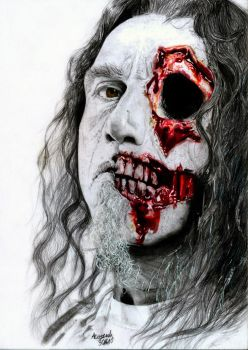 Slayer: Tom Araya by Red-Szajn