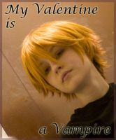 My Valentine is a Vampire by twinfools