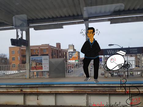At the station... by DocRODIN