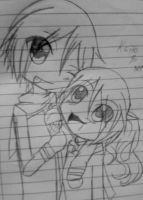 Me and Kaito! by CrystalHanaHM2013