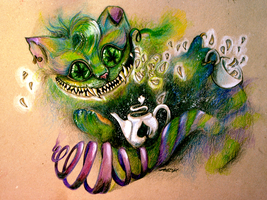 Cheshire cat by Aadavy