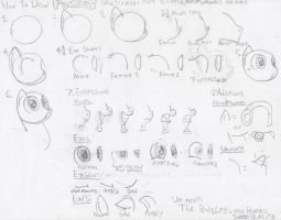 How To Draw Ponies Traditionally 1 by UltimateStudios