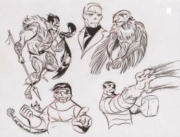 Marvel doodles 4 by dfridolfs