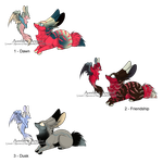 100-8 Themes - Aneelae and Aveelae Adopts - Gone by Feralx1