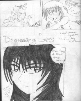YAOI- Drowning Love pg 1 by KehXKeova