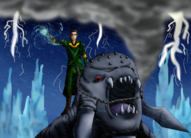 Loki IS In Charge by lizluvsanime2