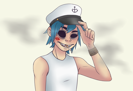 aye captain by Tea-cup-kitty