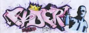 My  Graffiti by aissa23