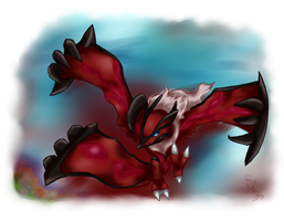 New Legendary Yveltal by LittleOcean