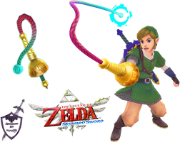 Skyward Sword - Link Render [1] by shad0w8