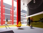 GIK Lofts district concept by Antioksidantas
