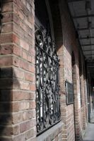 Down the Side of the Building by cynstock