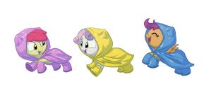 Bronycon print: Cutie Mark Crusaders by Siansaar