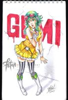 COPIC sketch03 GUMI by FranciscoETCHART