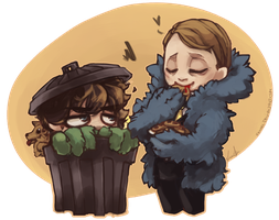 HANNIBAL - The Cookies are People by Sayael