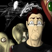 Markiplier- Aw Hell by Fancy-Indigo