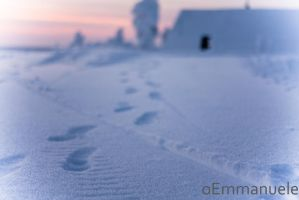 Footsteps to the mine. by oEmmanuele