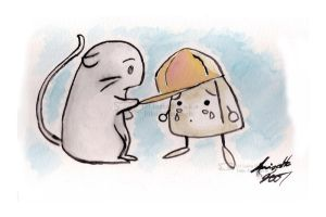 The tale of Mouse and Onigiri by eikomakimachi