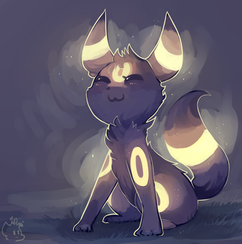 An Umbreon by honrupi