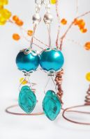 Fairy earrings by CairoWhite