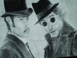 Holmes and Watson by ThePaintedLady143