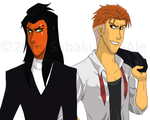 TLK+JB+Anime:Scar n Shere Khan by The-PirateQueen