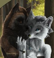 You're My Everything (Detail) by Quelyntr