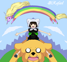 ..:ADVENTURE TIME!:.. by lllRafaelyay